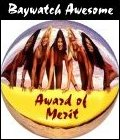 Baywatch Awesome Award